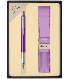 Zestaw Parker Vector Standard długopis z etui Pagani