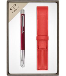 Długopis Parker Vector Standard Czerwony CT z etui
