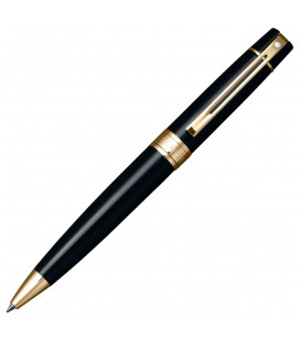 Długopis Sheaffer 300 Czarny lakier GT 9325